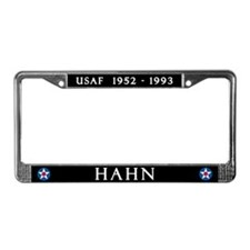 Hahn Air Base License Plate Frame