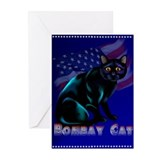 The Bombay Cat Greeting Cards (Pk of 20)