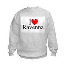 """I Love (Heart) Ravenna"" Sweatshirt"