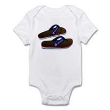 Anti Obama Flip Flops Infant Bodysuit