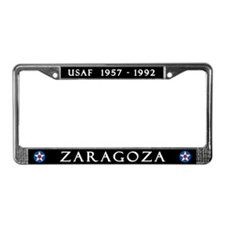 Zaragoza Air Base License Plate Frame