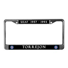 Torrejon Air Base License Plate Frame