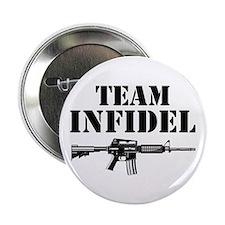 "Team Infidel 2.25"" Button (10 pack)"