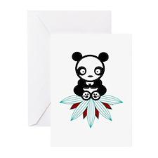 PANDA BUDDHA Greeting Cards (Pk of 20)