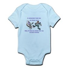 Computer beat me at chess Infant Bodysuit