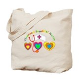 Licensed practical nurse Tote Bags