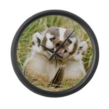 Badger Large Wall Clock