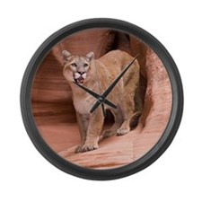 Cougar Large Wall Clock