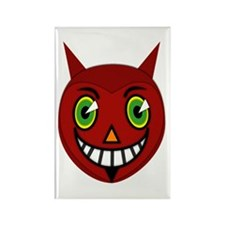 Vintage Devil Rectangle Magnet (10 pack)