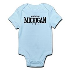 Made in Michigan Infant Bodysuit