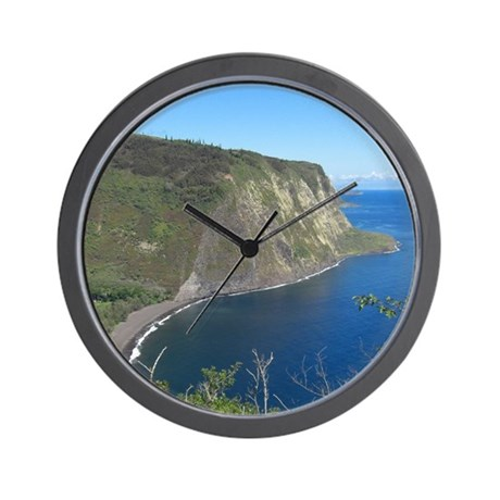 Waipio Valley Wall Clock