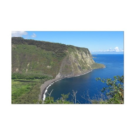 Waipio Valley Mini Poster Print