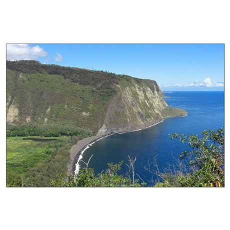 Waipio Valley Large Poster