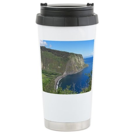 Waipio Valley Ceramic Travel Mug