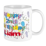 Liam's 2nd Birthday Mug