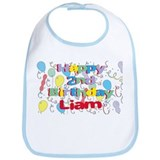 Liam's 2nd Birthday Bib
