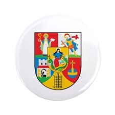 """Cute City flags 3.5"""" Button (100 pack)"""