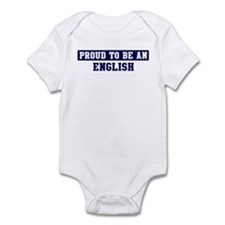 Proud to be English Infant Bodysuit