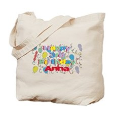 Anna's 3rd Birthday Tote Bag