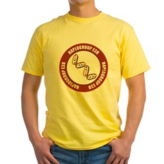 Haplogroup E3B Yellow T-Shirt