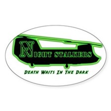 160th SOAR NightStalker's Oval Decal