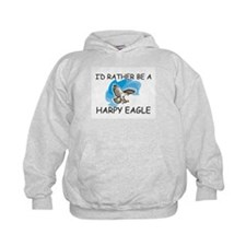 I'd Rather Be A Harpy Eagle Hoodie