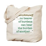 THINKING MUSLIM Quranic Quote Tote Bag