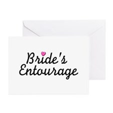 Bride's Entourage Greeting Cards (Pk of 10)