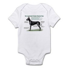 Gardener's Helper (Black) Infant Bodysuit