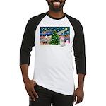 XmasMagic/Shih Tzu (P) Baseball Jersey