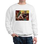 Santa's Yorkie (#11) Sweatshirt