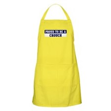 Proud to be Crouch BBQ Apron