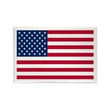 US Flag Rectangle Magnet (10 pack)