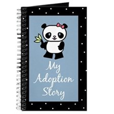 My Adoption Story Panda Bear Diary Journal