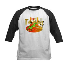HOT TEXAS GIRL Kids Baseball Jersey