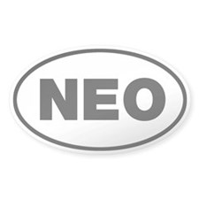 NEO Oval Sticker (10 pk)