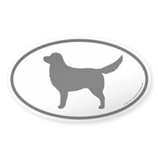 Toller Oval Sticker (50 pk)
