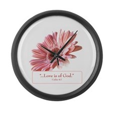 Blush Large Wall Clock