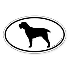 Spinone Italiano Oval Sticker (50 pk)