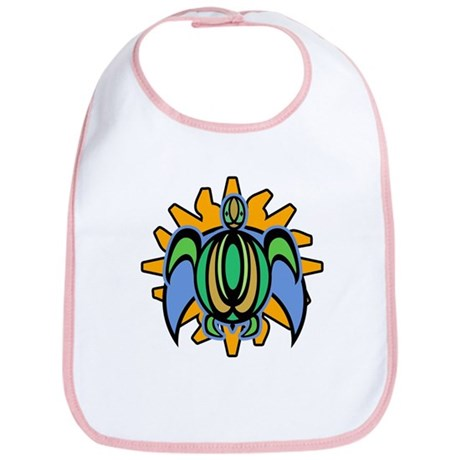 Dawn Turtle Bib