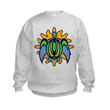 Dawn Turtle Kids Sweatshirt