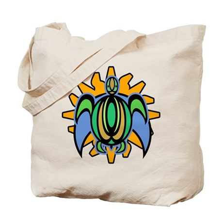 Dawn Turtle Tote Bag