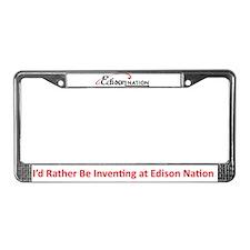 Unique Inventive License Plate Frame