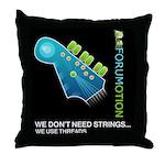 Forumotion Rock Throw Pillow
