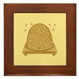 Bee Hive Framed Tile