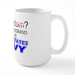 Got Freedom? Navy (Husband) Large Mug