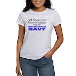 Got Freedom? Navy (Husband) Women's T-Shirt