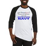 Got Freedom? Navy (Mother) Baseball Jersey
