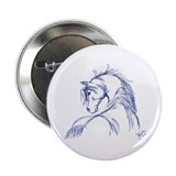"Horse Head Sketch 2.25"" Button"