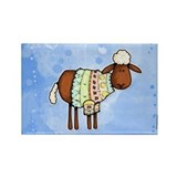 woolly sweater Rectangle Magnet (100 pack)